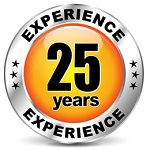 25 yrs experience